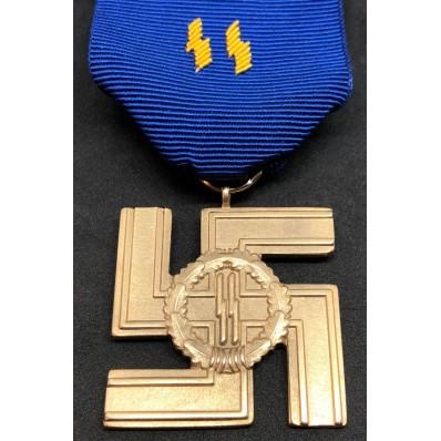 Medaglia Di Lungo Servizio Nelle SS 25 Anni