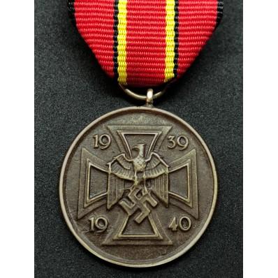 Medaglia Di Guerra 1939-1940 Per I Combattenti Per La Libertà Tedesca