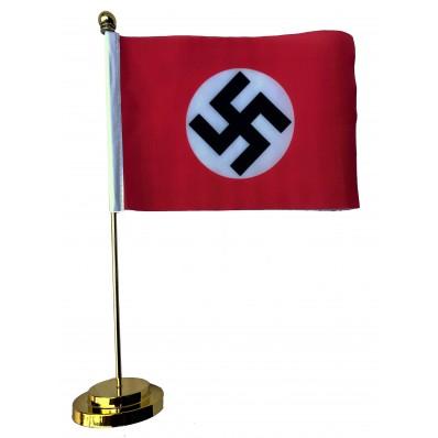 -Metal Base Table Flag - NSDAP