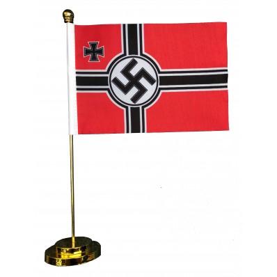 -Metal Base Table Flag - Reichskriegsfahne