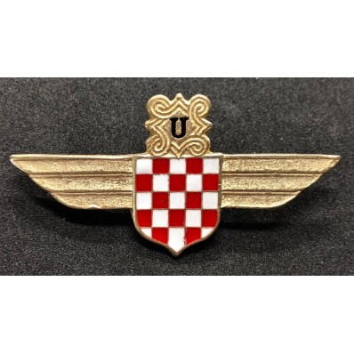 Croatian Air Force Legion Badge