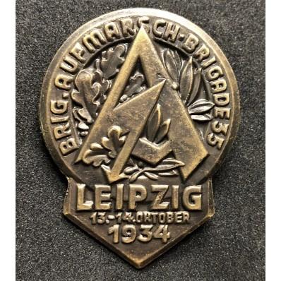 Distintivo del Ritrovo SA a Leipzig del 1934
