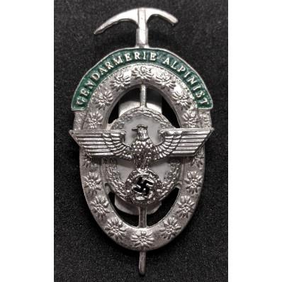 Distintivo Della Gendarmeria Alpinista