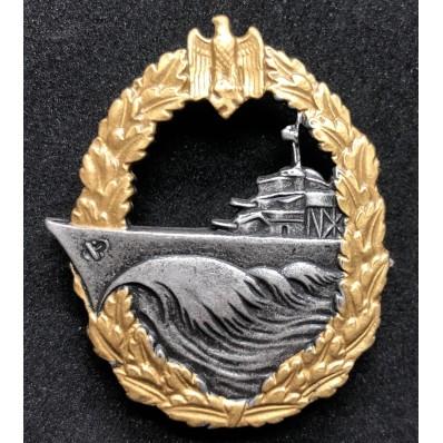 Zerstörer-Kriegsabzeichen (Horizontaler Pin)