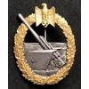 "War Badge of the Coastal Artillery ""Fec. Otto Placzek Berlin"""