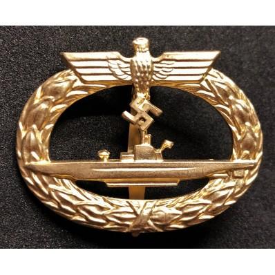 U-Boot-Kriegsabzeichen 1939 (Gold)