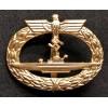U-Boat Badge 1939 (Gold)