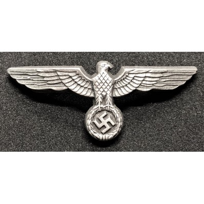Wehrmacht Eagle Hat Badge (Silver)