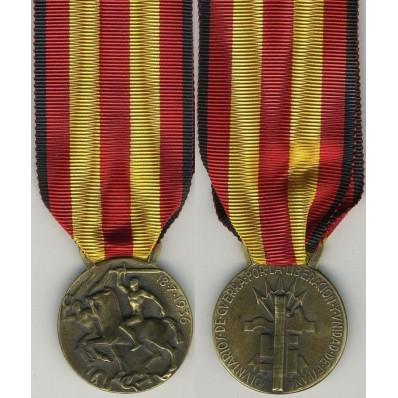 """Italo-Spanish contingent Medal """"17 Julio 1936"""""""