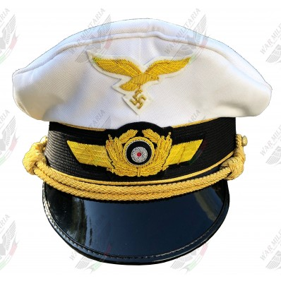 Luftwaffe Generals Visor Cap (Click to select the size)