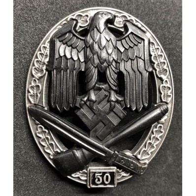 General Assault badge - 50 Assaults