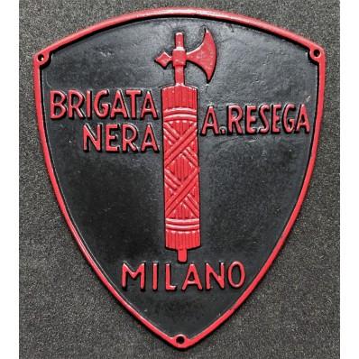 "Schild - Schwarze Brigade ""Aldo Resega"""
