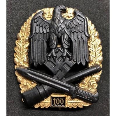 General Assault badge - 100 Assaults