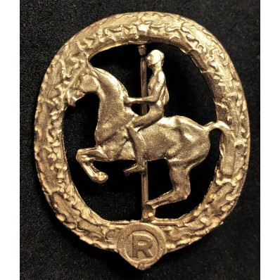 Distintivo Deutsches Reiterabzeichen (Oro)