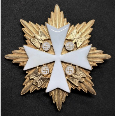 Star of the Grand Cross of the Order Of The German Eagle - Without Swords (Gold)