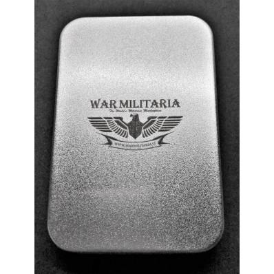 Metallbox für Feuerzeuge - Lasergravur