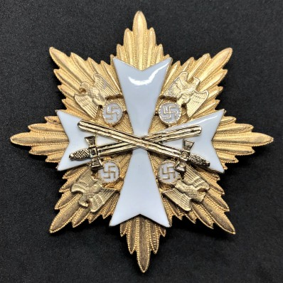 Star of the Grand Cross of the Order Of The German Eagle - With Swords (Gold)