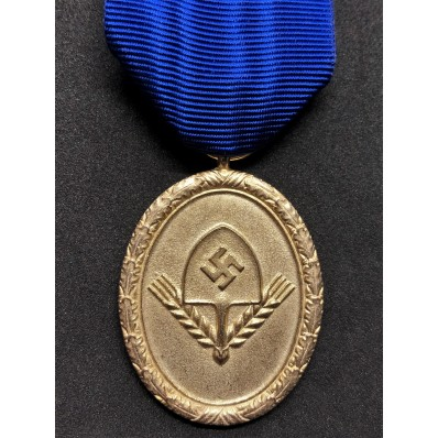 Long Service RAD Medal 1st Class - 25 Years (Gold)