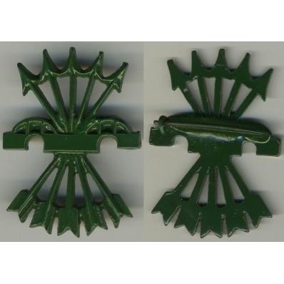 Abzeichen für Falange Kämpfer - Flechas Rojas
