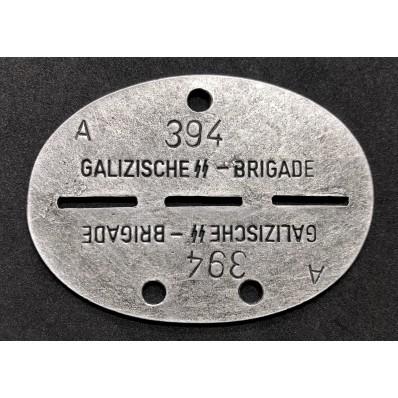 Piastrina Di Riconoscimento - Galizische SS Brigade