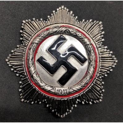 German Cross (Silver/Silver)