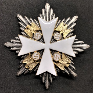 Star of the Grand Cross of the Order Of The German Eagle - Without Swords (Silver)