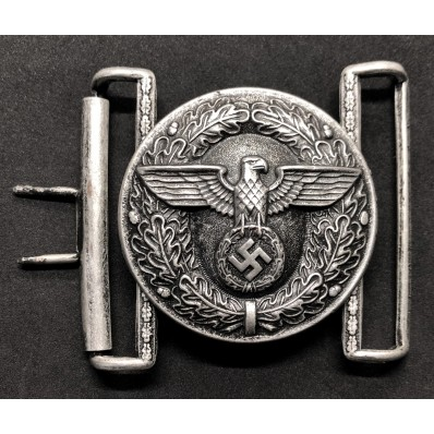 Parade Buckle For Political Leaders Of NSDAP (Silver)