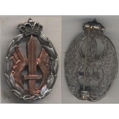 Distintivo Regia Aeronautica per azioni di guerra, assalto e combattimento (Oro)