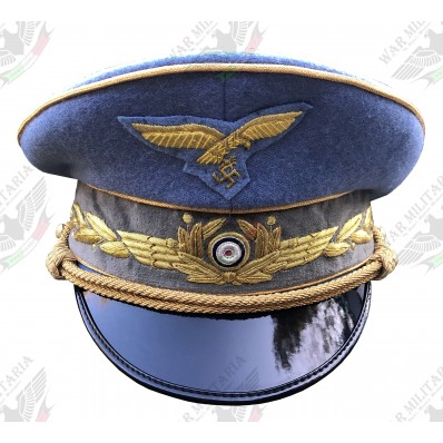 Reichsmarschall Hermann Göring Visor Cap - Blue (Click to select the size)