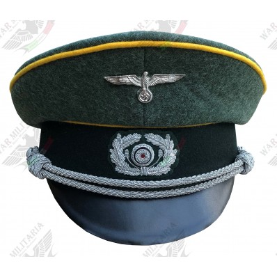 Officers Visor Cap - Heer Cavalry (Click to select the size)