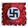 Hand Embroidered Flag - Deutschland Erwache Banner