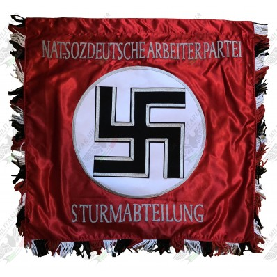 Hand Embroidered Flag - Banner of the Assault Detachments of the NSDAP