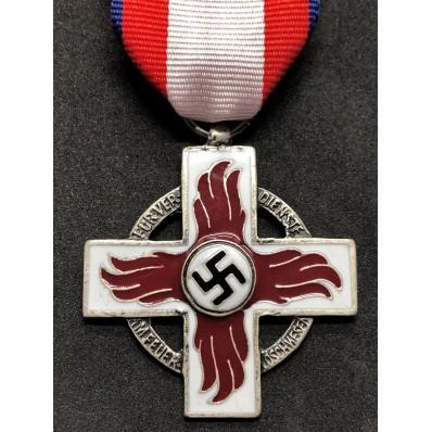 Medaglia al Merito per membri dei Vigili del Fuoco del Reich di 2a Classe