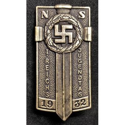 Distintivo Hitlerjugend per il Primo Raduno di Postdam (Bronzo)