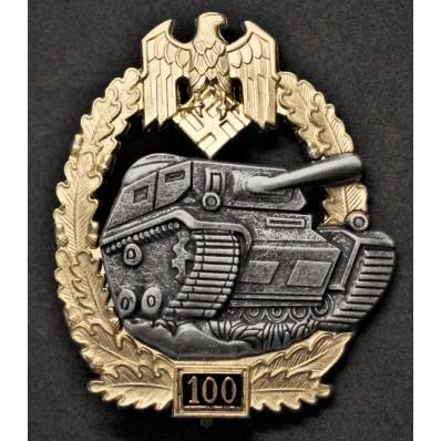 Panzer Badge - 100 Assaults