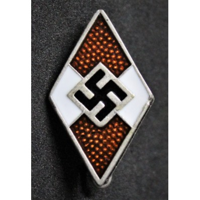 HitlerJugend Badge (Red)