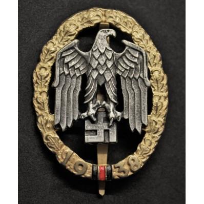 Gau Sudetenland Honour Badge
