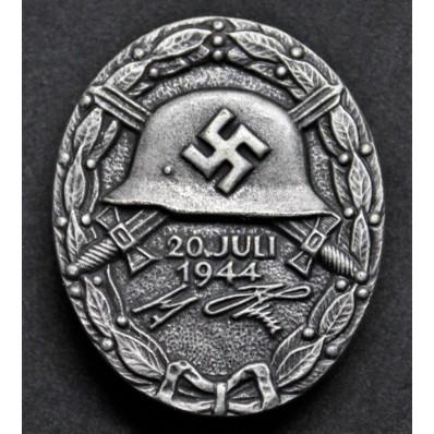 Distintivo Per Feriti Del 20 Luglio 1944 (Argento)