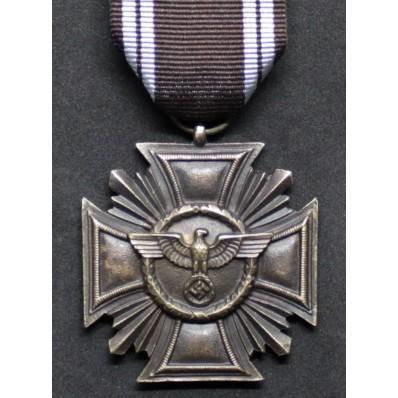 Long Service NSDAP Medal 3rd Class - 10 Years (Bronze)