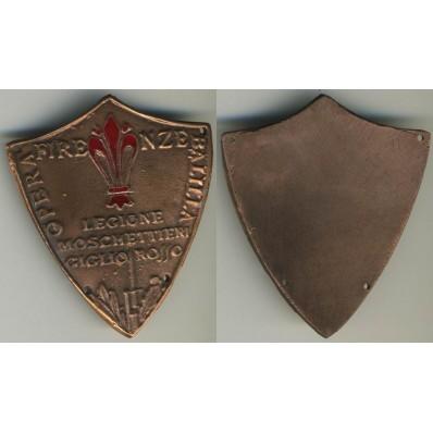 Schild - Freiwillige aus der Littorio Division n.1