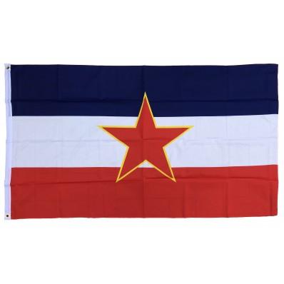 Fahne - Jugoslawien 1945 - 1991 (150x90cm)