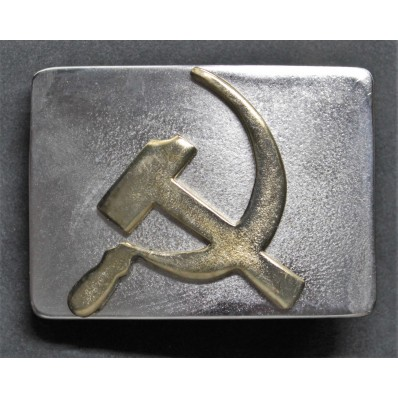 Buckle - Sickle and hammer