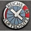 Reichs Luftschutz Pin Badge