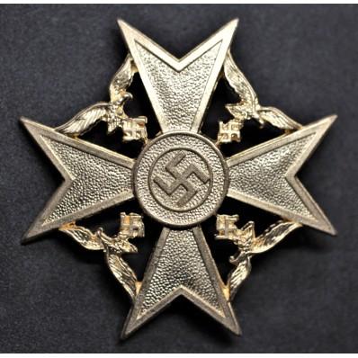 Croce Al Merito Civile per la Guerra di Spagna (Oro)