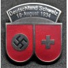 Badge for the 1934 Football Game Between Germany and Switzerland