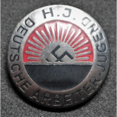 H. J. Deutsche Arbeiter-Jugend Badge