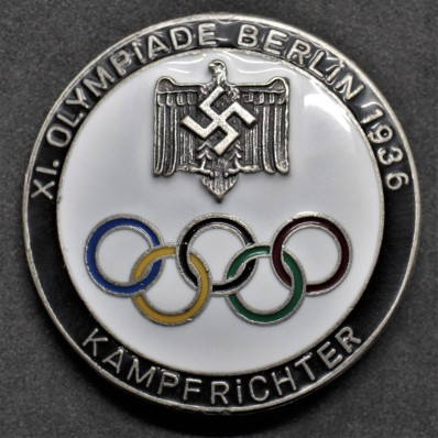 Badge for Judges of the Berlin Olympics 1936 (Black)