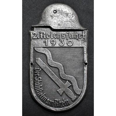 Car Plaque - 2. ReichsFahrt 1930