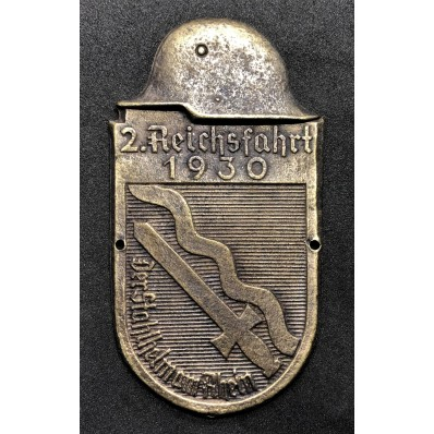 Car Plaque - 2. ReichsFahrt 1930 (Bronze)