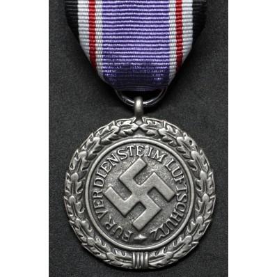Medaglia di Lungo Servizio Nella Luftschutz di 2a Classe